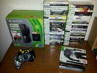 Xbox 360 slim 250 gig with top games