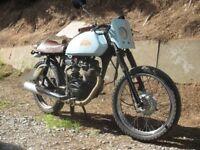 honda cg 125 cafe racer with 12 months mot great little bike
