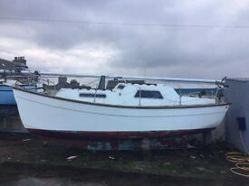 26ft Sunseeker yacht