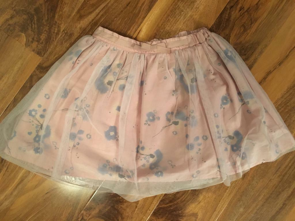 Next girls flower tutu style skirt, nearly new age 8 years