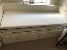 Ikea Hemnes Day Bed incl mattresses £100 collection only