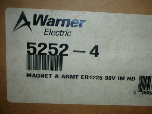 Warner Electric Altra 5252-4 Magnet and Armature Assembly for ER-1225 Heavy Duty