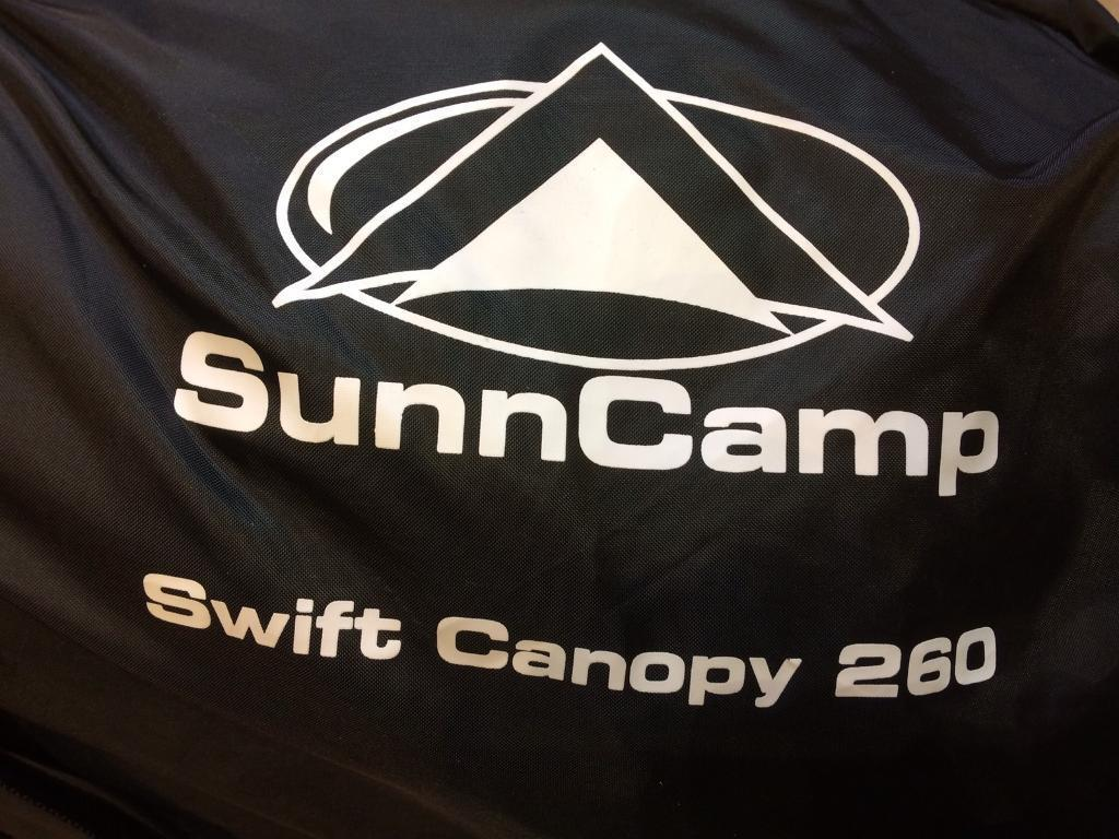 SunnCamp Swift 260 Canopy Porch Awning | in March ...