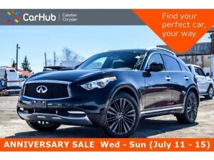 2017 Infiniti QX70 Sport|AWD|Navi|Sunroof|Backup Cam|Bluetooth|P