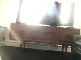 G plan sideboard and wardrobe