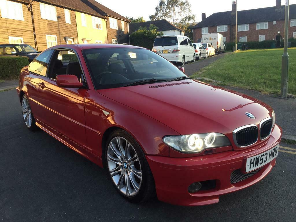 2003 Bmw E46 320cd M Sport Imola Red 2 Metallic In Colindale London Gumtree