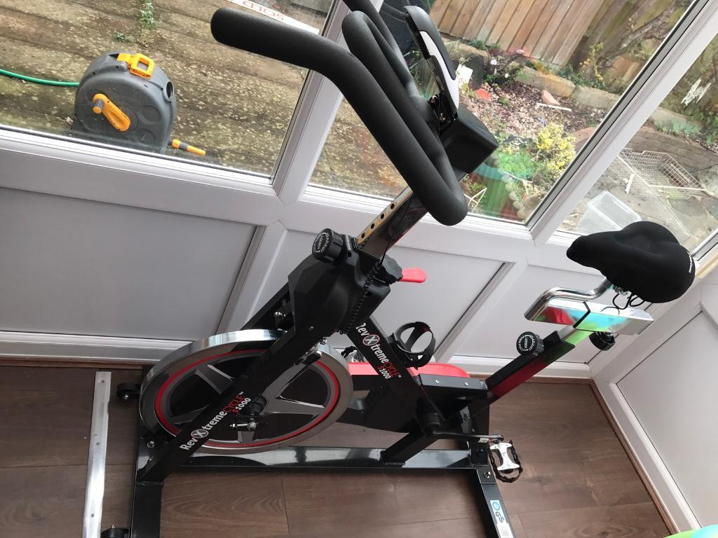 Exercise bike for sale few months old