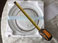 Microwave turntable plate c/w roller