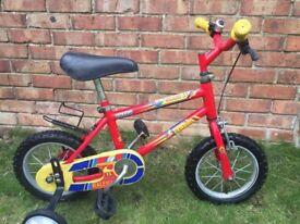 Boy's Raleigh bike