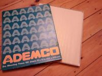 Ademco dry mount tissue and more