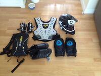 Downhill mountain biking kit