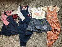 Next Girls Playsuit And Dress Bundle 4-5 years, new with tags. The bundle includes 8 items. RRP £75!