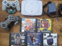 Playstation 1 and games ps1
