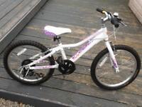 Girls giant areva 20in bike