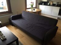 Chou Sofa Bed Immaculate Condition from Made