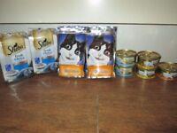Cat food - sheba, gourmet, felix