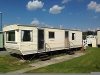 May bank holiday available. Brynowen borth camp site. email. Pet friendly, beautiful caravan
