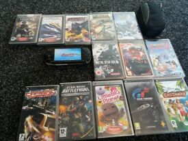 psp with 13 games