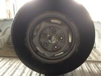 ford transit wheel & new tyre