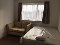 Brand new double bedroom flat with ensuite shower room.