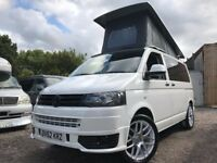 2012 VW TRANSPORTER T5 .1 POP TOP 4 BERTH NEW CONVERSION 2TD 6 SEATER CAMPERVAN