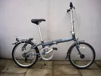 Compact Folding /Commuter Bike by Dahon, Permitted on Tube & Trains, JUST SERVICED/ CHEAP PRICE!!!!!