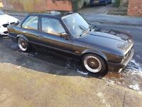 1989 BMW 320i e30 - NEW MOT - Manual, 2 Door Coupe - Leather Interior & Electrics, not 325i