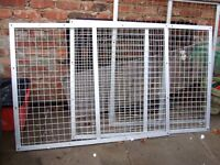 3 LARGE STEEL SECURITY WINDOW GRID CAGES