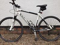Cube cross hybrid mountain bike