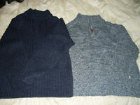 Two lovely boys jumpers