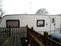 6 berth Bailey caravan with paper work