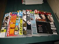 UNCUT MUSIC MAGAZINES 9 ISSUES 2006