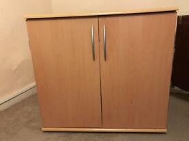 **REDUCED** £5!! Tv cupboard unit or computer desk/cupboard