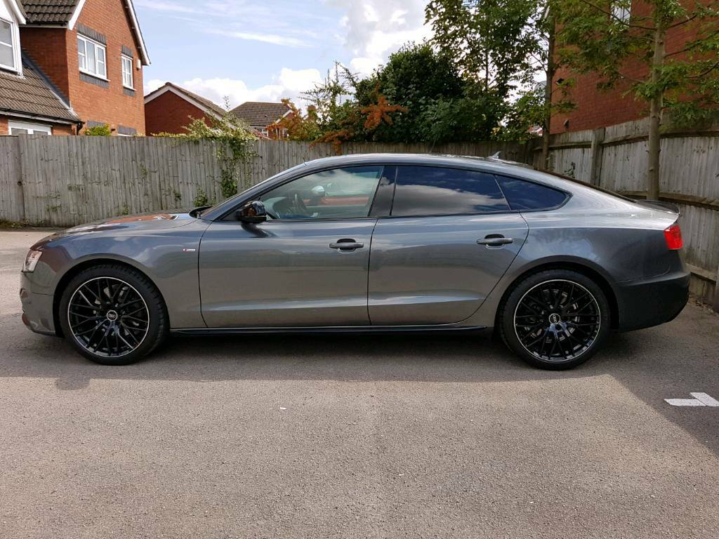 audi a5 sportback black edition plus in warwick warwickshire gumtree. Black Bedroom Furniture Sets. Home Design Ideas