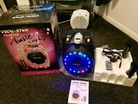 Vocal-Star Portable Black Karaoke Machine. Used. Hurley. Maidenhead