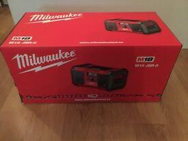 BRAND NEW - Milwaukee M18 radio
