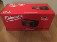BRAND NEW - Milwaukee M18 radio