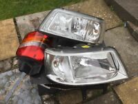 VW T5 Head Lights and Tail Light Reflector Cover