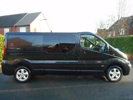 FINANCE ME!! NO VAT!! Immaculate 2013 Vauxhall Vivaro CDTi 115 Sportive LWB 6 Seat Crew Van.