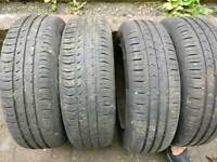 4 continental tyres 175/65/14