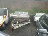boat with trailer, offers only