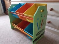 Bebe Style Crayon Unisex Childrens or Baby Keep Tidy Storage - ideal Christmas present