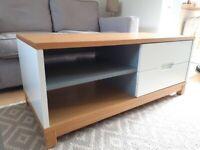 Coffee Table – TV/Media unit – Sideboard; Grey/white/oak colour