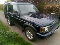 Land Rover Discovery 2 Td5. 7 Seat, Manual. Tow bar.