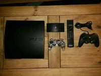 Playstation 3 slim 160gb, 44 games + more