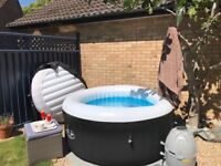 Almost new Lay Z Spa home garden hot tub for sale