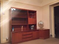 G Plan wall unit and corner unit
