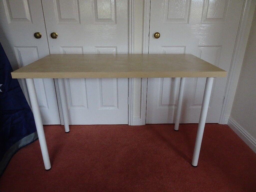 Beige Wood Ikea Desk (120x60cm)