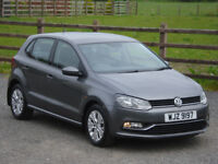 2015 VW POLO 1.0 SE BLUEMOTION TECH 5 DOOR **ONE OWNER FROM NEW**