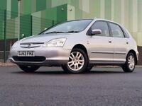 Honda Civic1.6 i-VTEC Imagine Hatchback 5d AUTOMATIC r((Full service History+12M MOT))